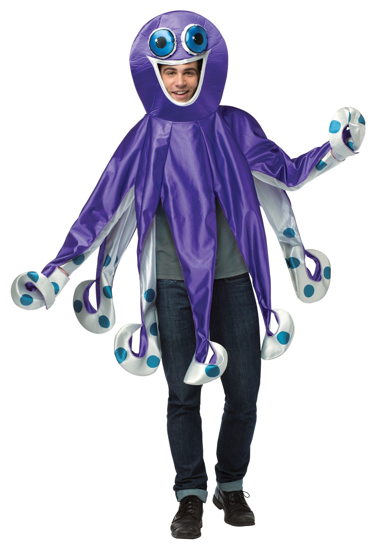 Purple Octopus Costume