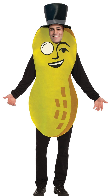 Halloween Costumes 07726.Planters Mr Peanut Halloween Costume Adult One Size