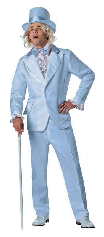 Adult Orange Prom Tuxedo Tux Suit Costume