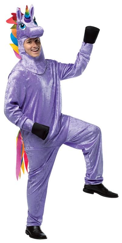 Rainbow Unicorn Hooves Fancy Dress Luxury Fur One Size Halloween Dress Up Unisex