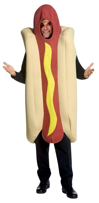 Adult Hot Dog Fancy Dress