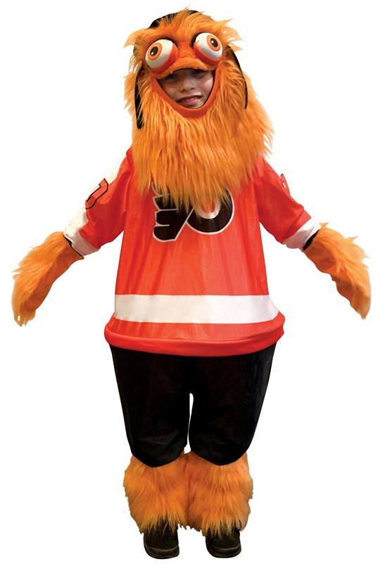 Gritty Halloween Costume NHL Philadelphia Flyer's Mascot Size 7-10