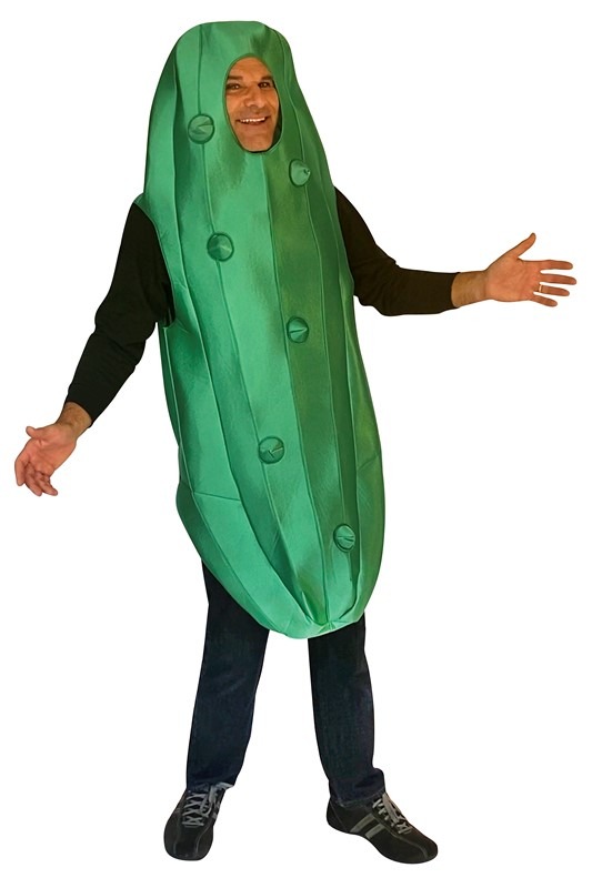 Rasta Imposta Ultimate Pickle Condiment Halloween Costume, Adult One Size