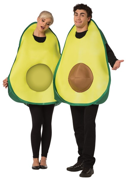 Avocado Couples Costume, Adult One Size