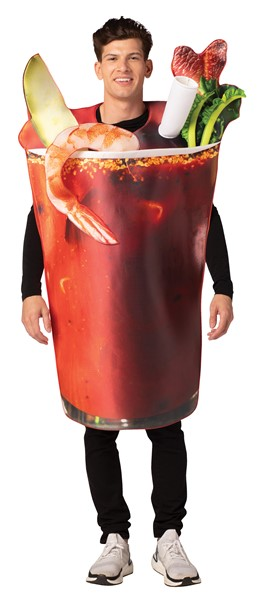 Bloody Mary Tunic Halloween Costume, Adult One Size