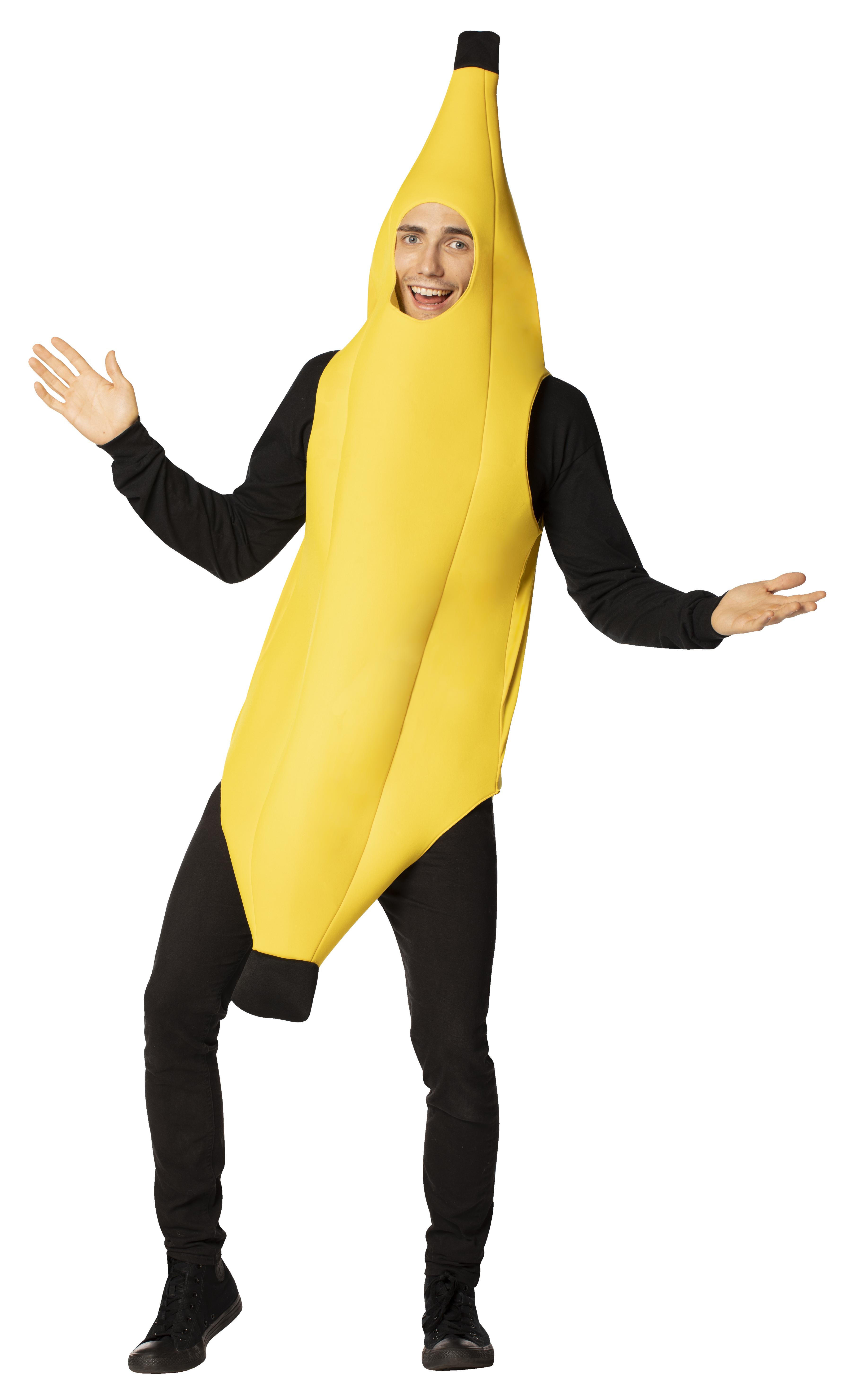 Lightweight Banana Child Costume 4-6X